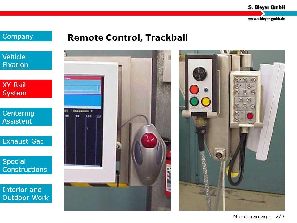 Remote Control, Trackball