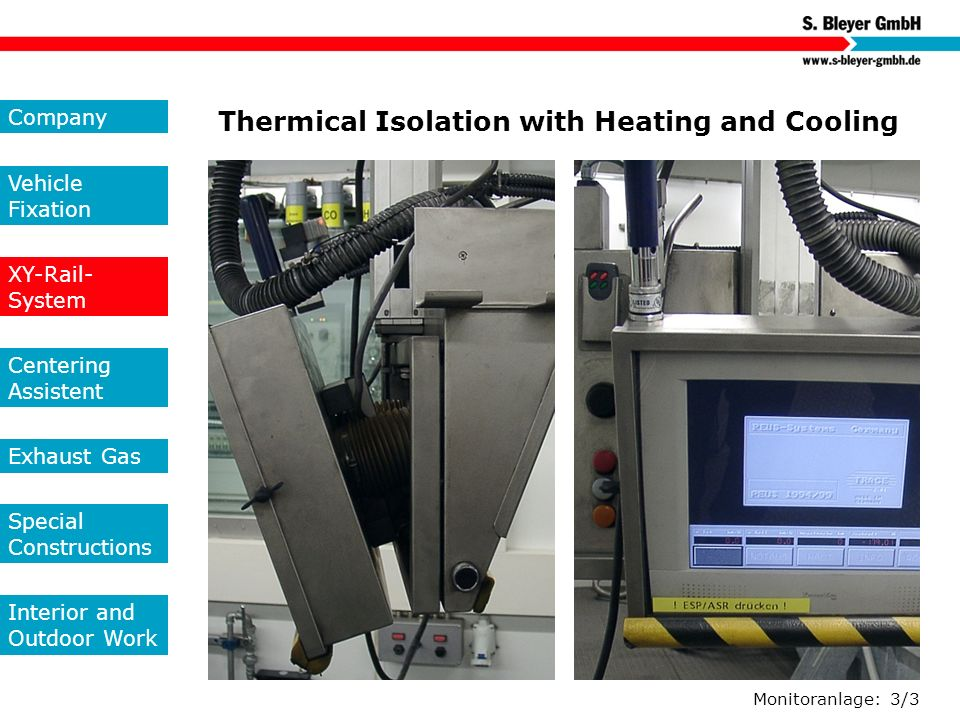 Thermical Isolation with Heating and Cooling