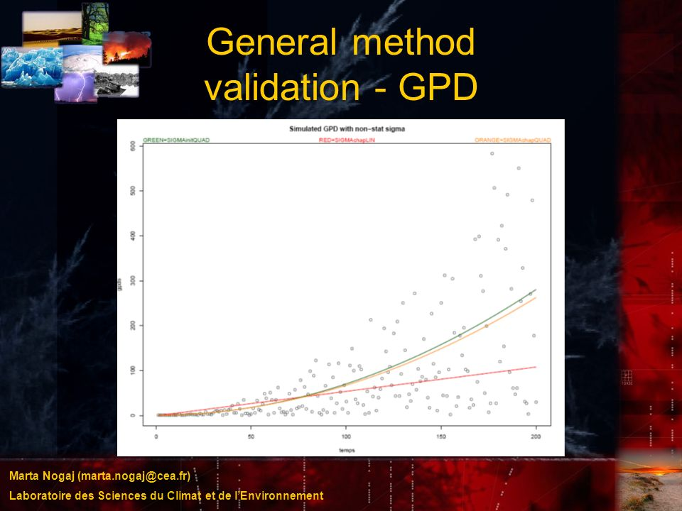 General method validation - GPD