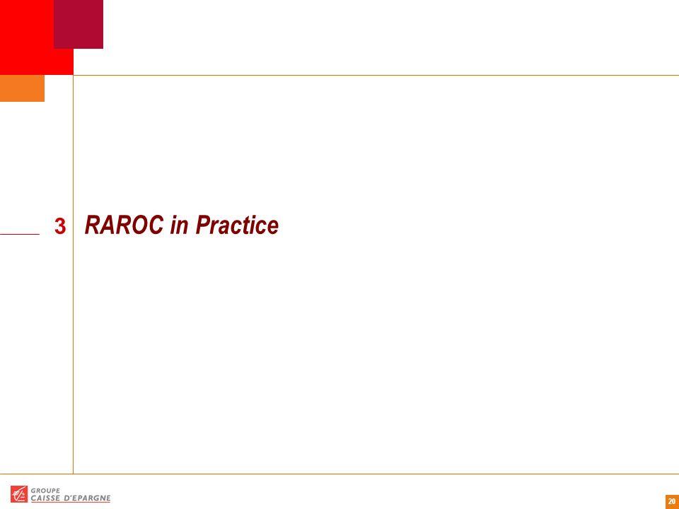 RAROC in Practice 3