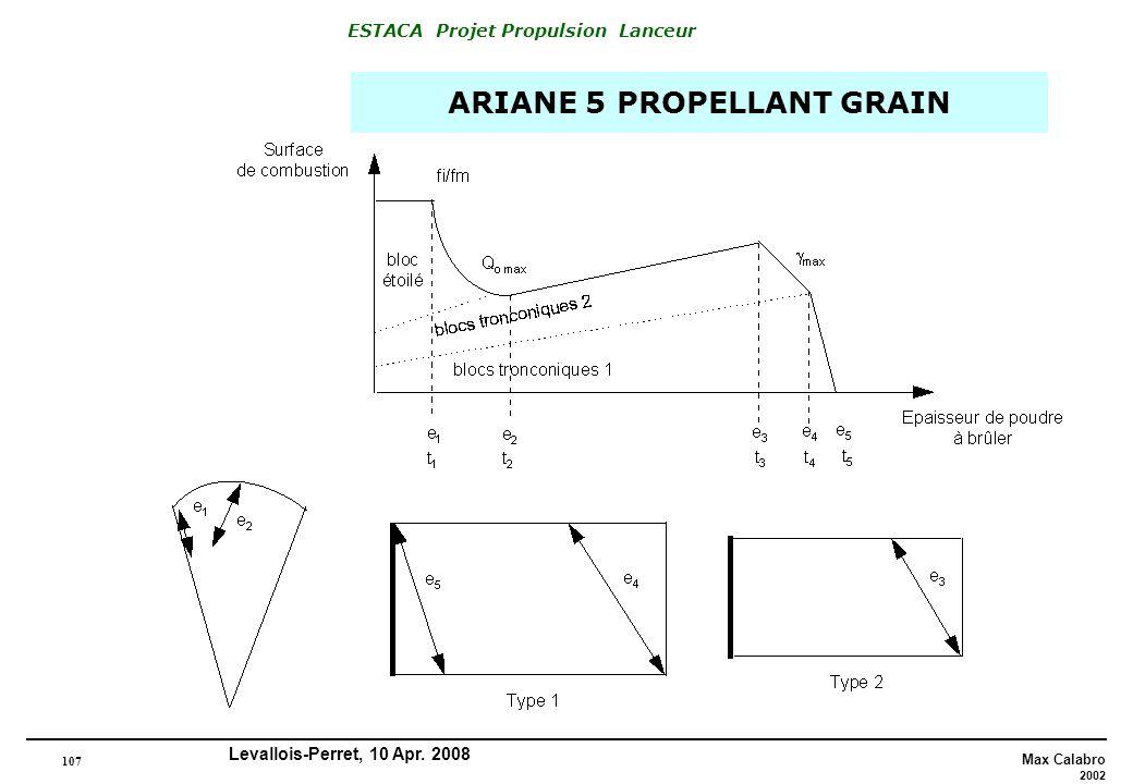 ARIANE 5 PROPELLANT GRAIN