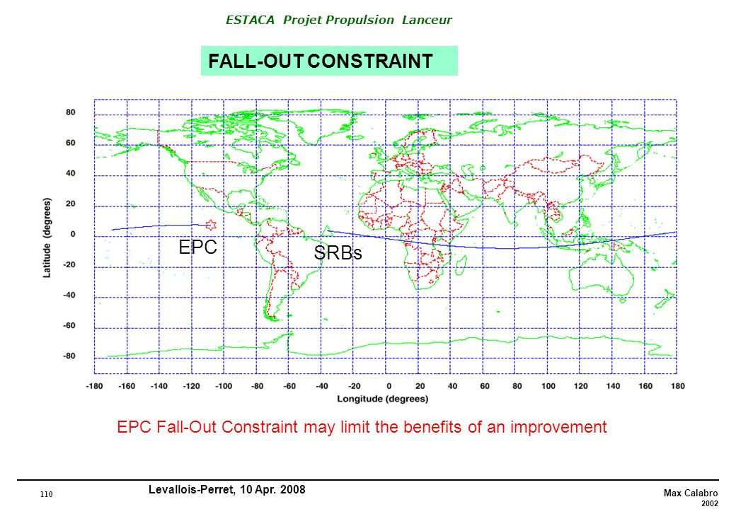 FALL-OUT CONSTRAINT EPC SRBs
