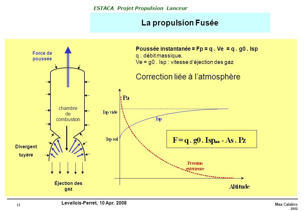 Correction liée à l'atmosphère