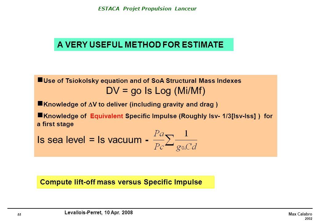 Is sea level = Is vacuum -