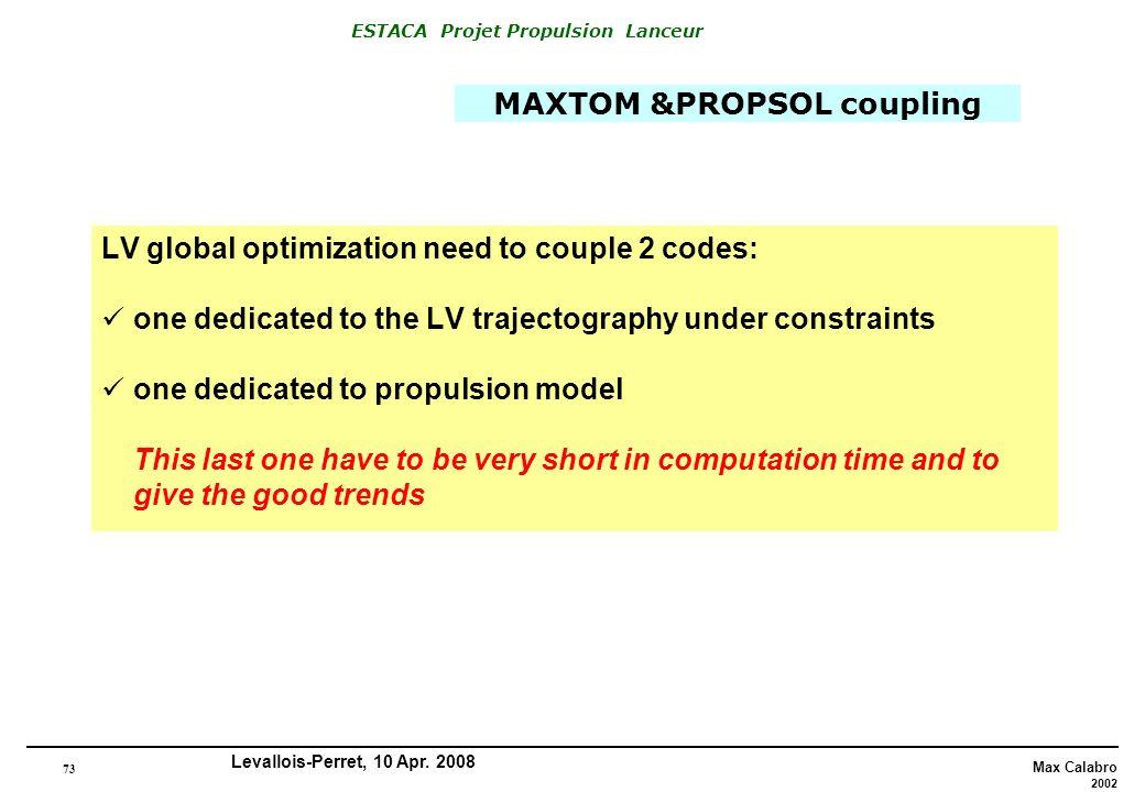 MAXTOM &PROPSOL coupling