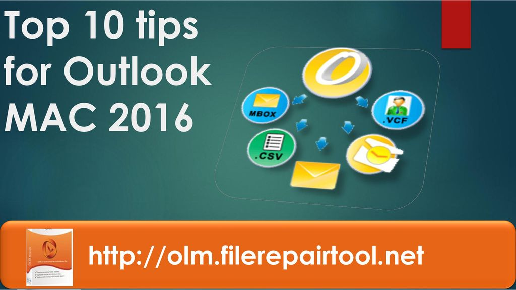 Top 10 tips for Outlook MAC ppt download