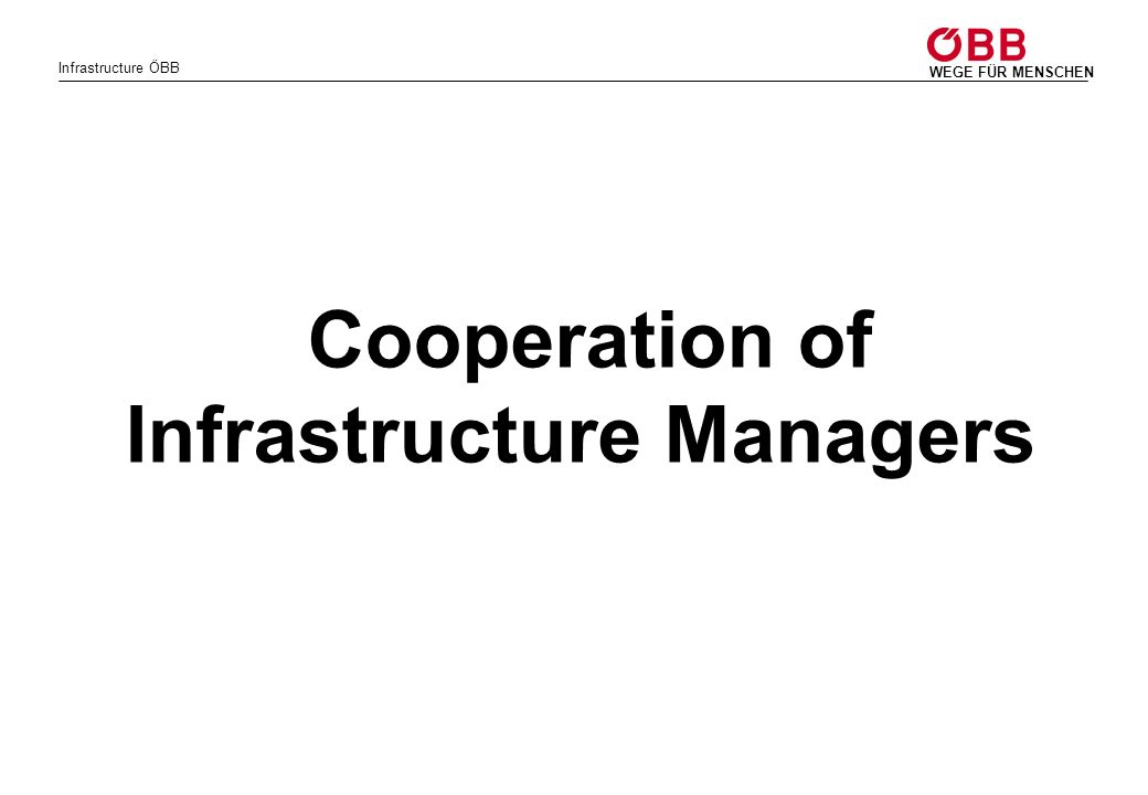 Infrastructure Managers