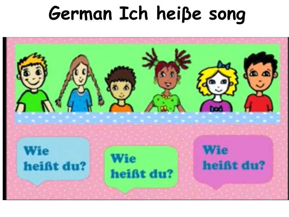 German Ich heiβe song http://www.youtube.com/watch v=80i9KwH2mRc