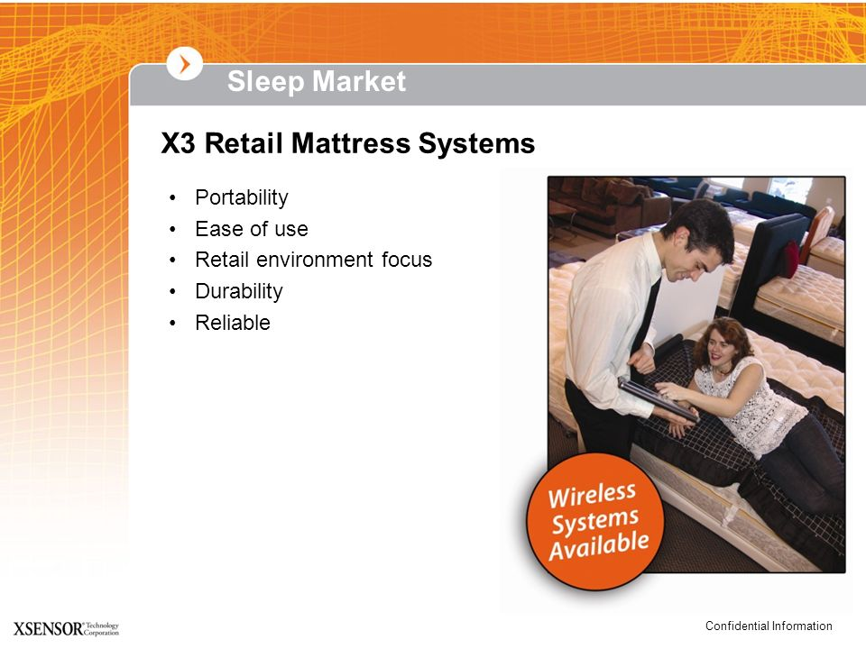X3 Retail Mattress Systems