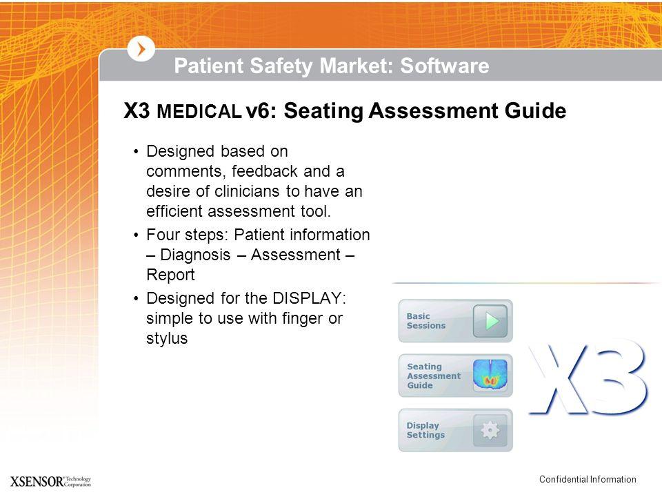 X3 MEDICAL v6: Seating Assessment Guide