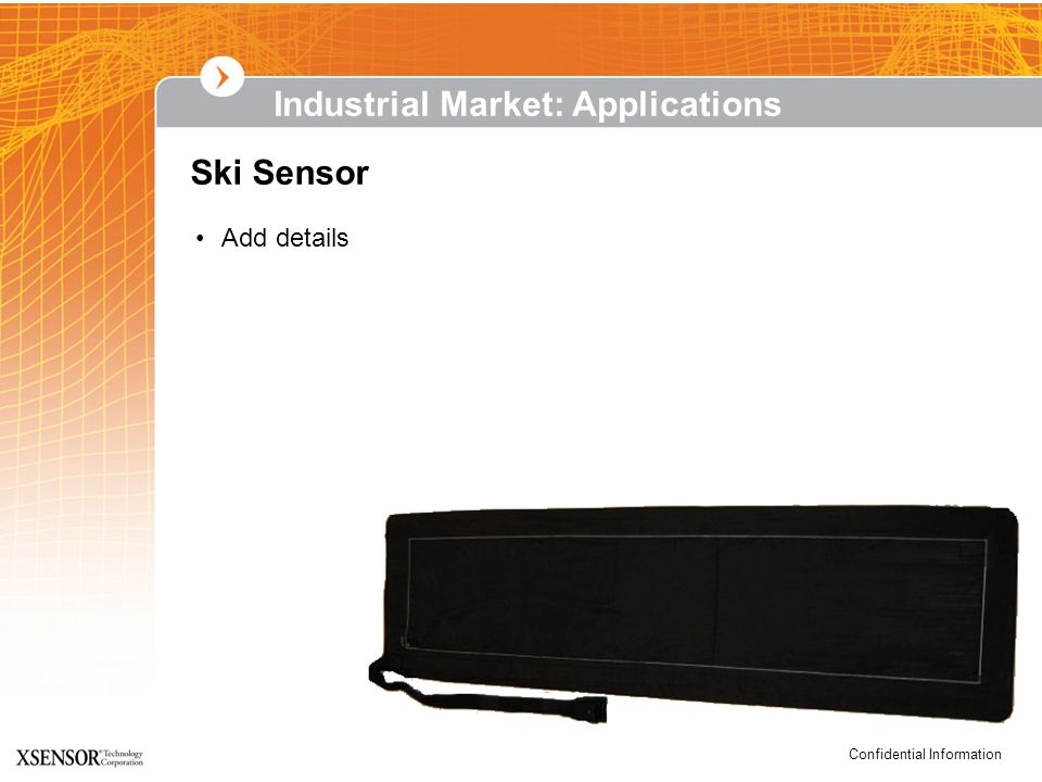 Industrial Market: Applications