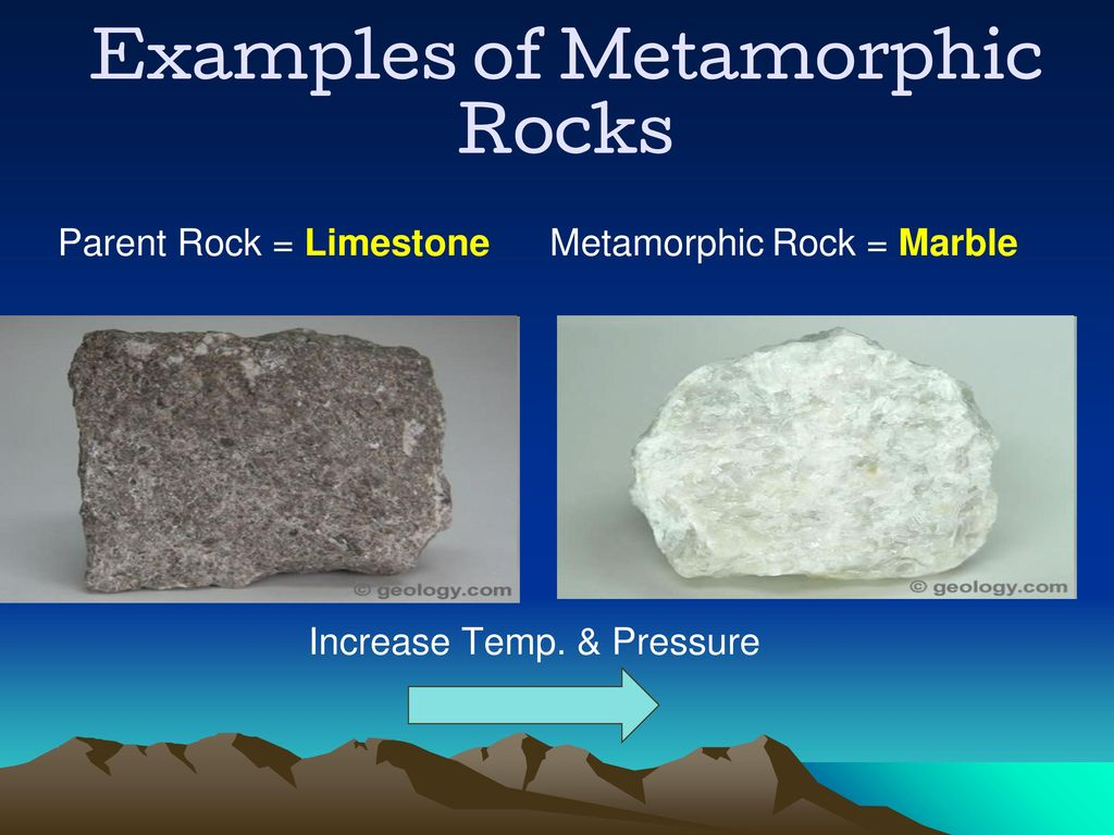 Example Of Metamorphic Rock Choice Image Example Cover Letter For