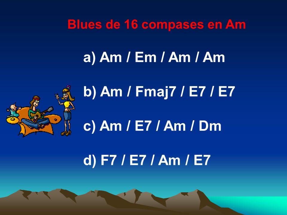 Am / Em / Am / Am Am / Fmaj7 / E7 / E7 Am / E7 / Am / Dm