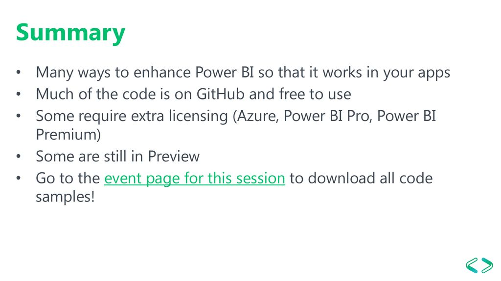 Make Power BI Your Own with the Power BI APIs - ppt download