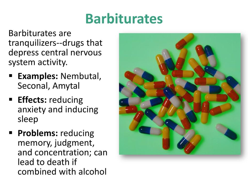 an analysis of the side effects of the barbituric acid in barbiturate Neutralization of the reaction product (a barbiturate) with hydrochloric acid yields the crude free barbituric acid, which is then purified by recrystallization from suitable solvents in most cases the urea-ester condensation proceeds quite smoothly and good product yields are obtained.