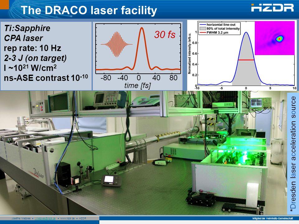 The DRACO laser facility