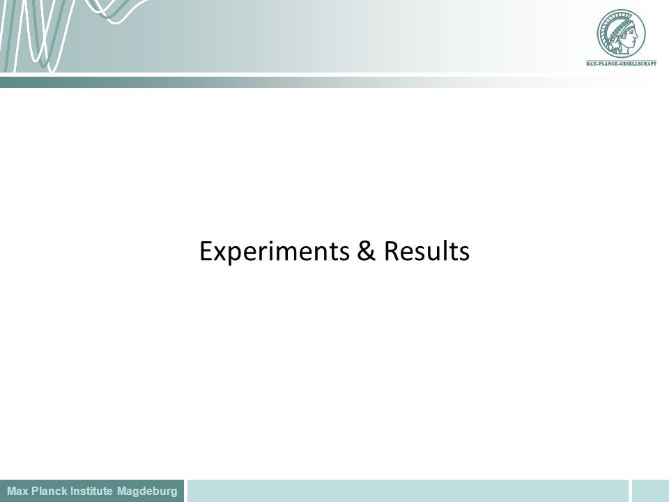 Experiments & Results