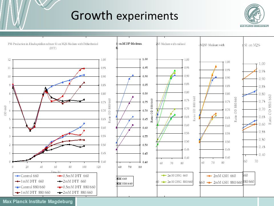 Growth experiments