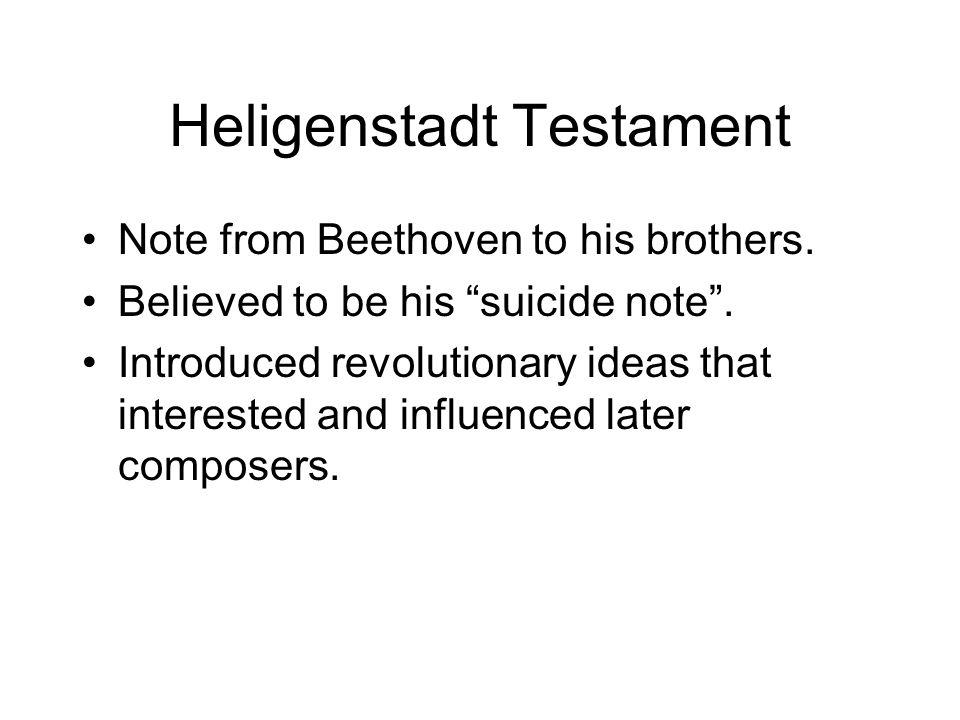 Heligenstadt Testament