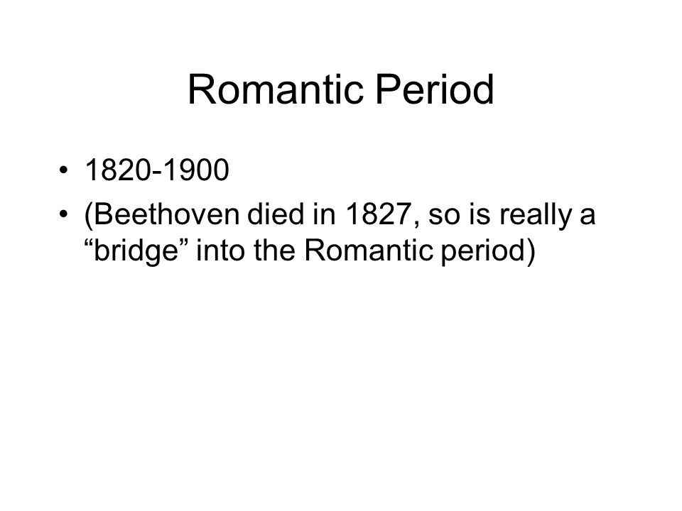 american romanticism 1820 1900 Romantic music timeline share flipboard historiographers define the romantic period to be between 1800 to 1900 1867 - amy beach, the first major american female composer, was born 1868.