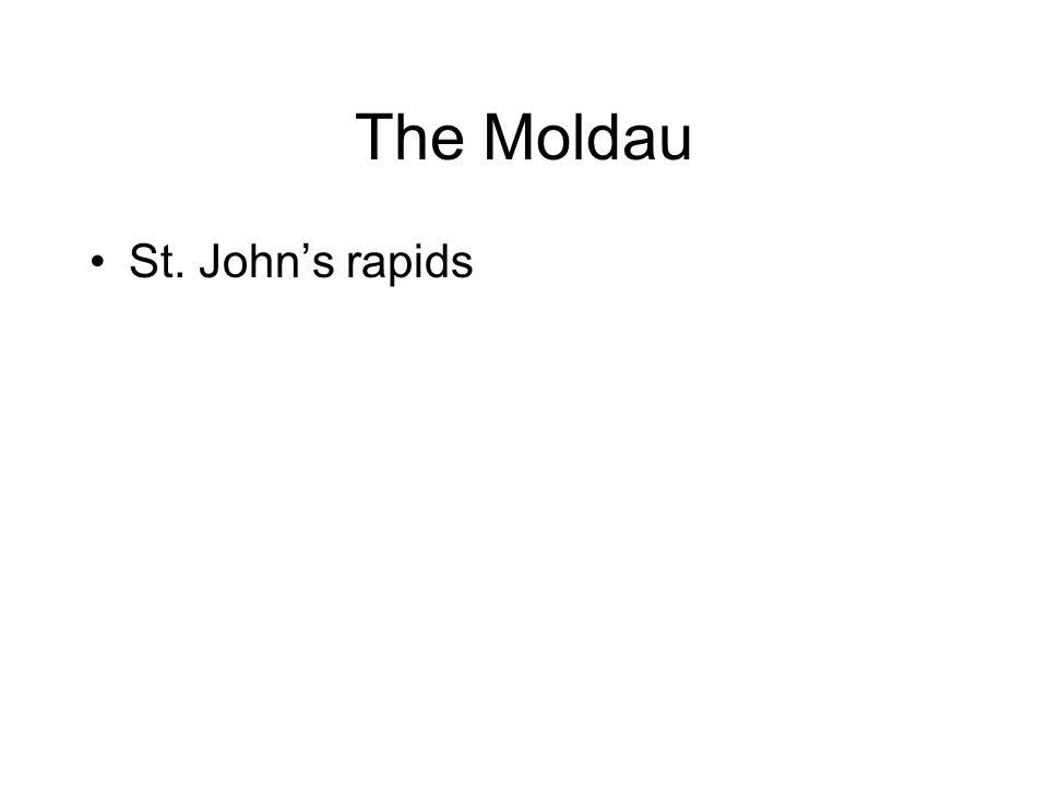 The Moldau St. John's rapids