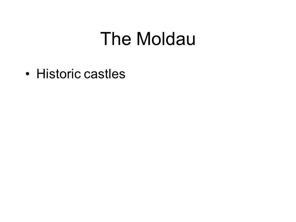 The Moldau Historic castles