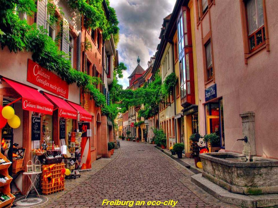 Freiburg an eco-city