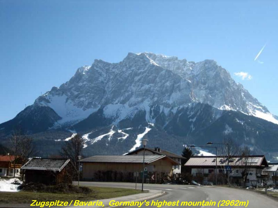 Zugspitze / Bavaria, Germany s highest mountain (2962m)