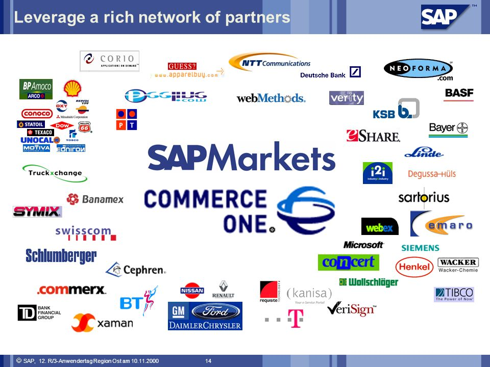 Leverage a rich network of partners