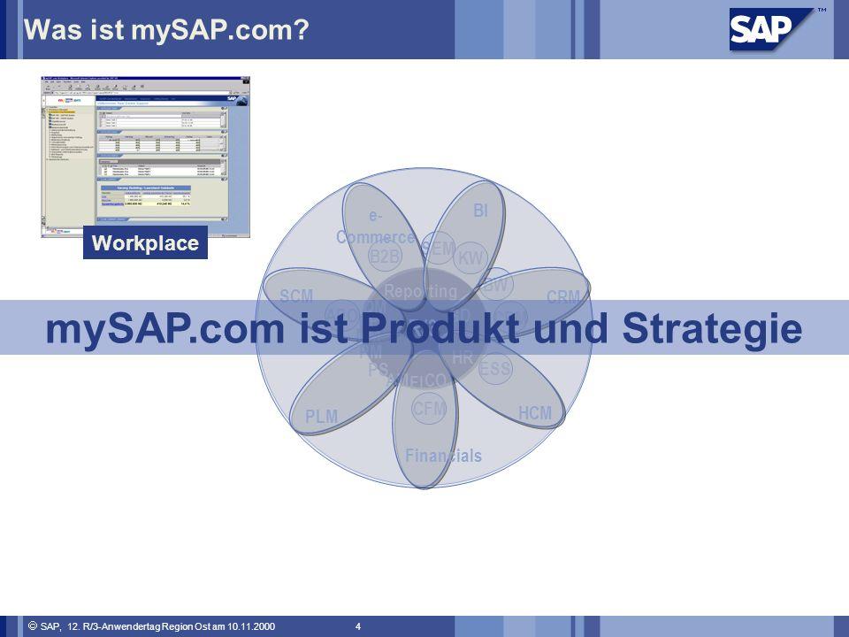 mySAP.com ist Produkt und Strategie