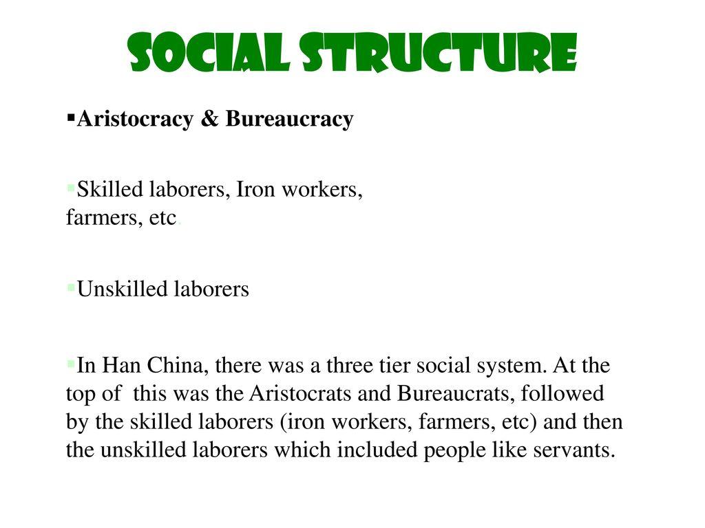 han social structure