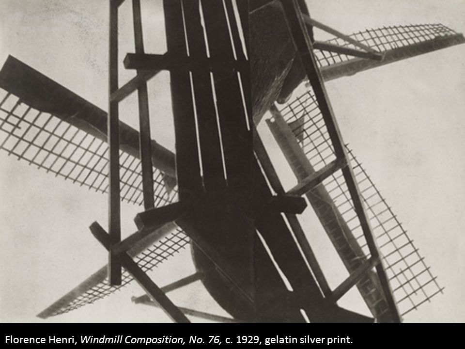 Florence Henri, Windmill Composition, No. 76, c