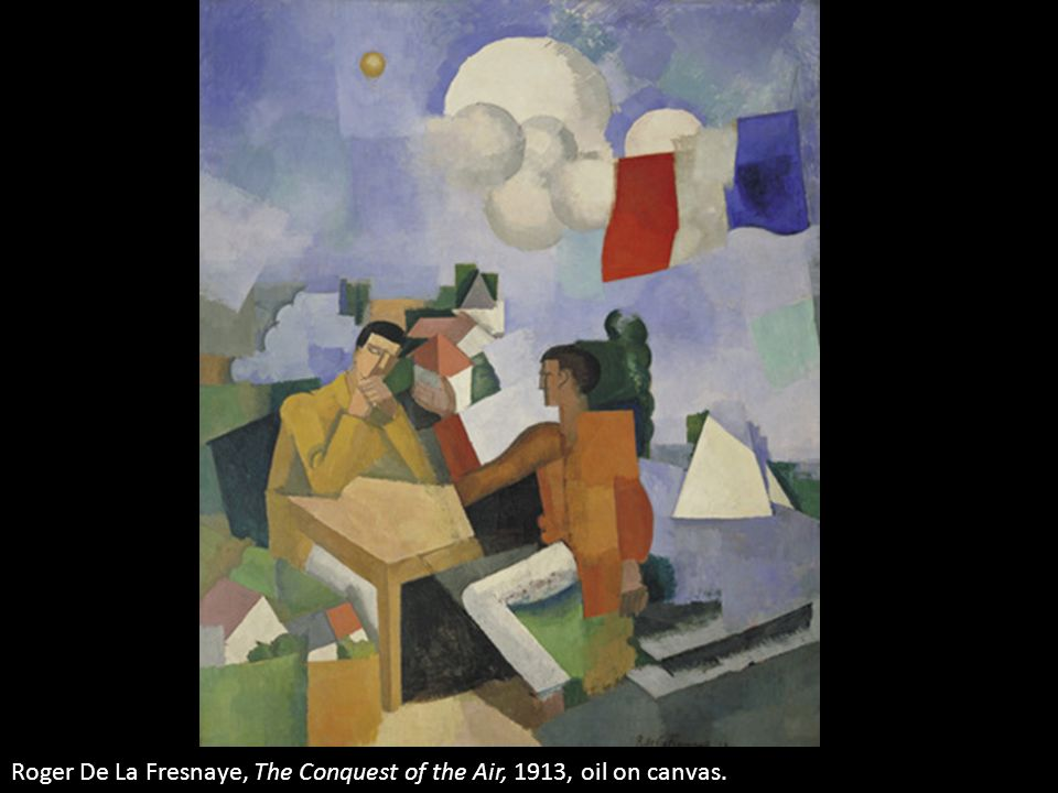 Roger De La Fresnaye, The Conquest of the Air, 1913, oil on canvas.