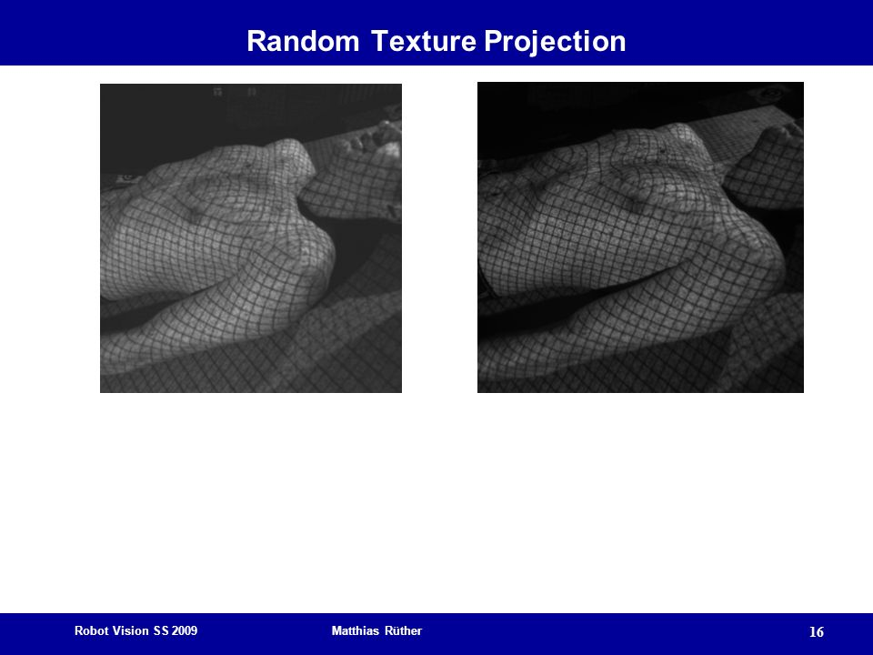 Random Texture Projection