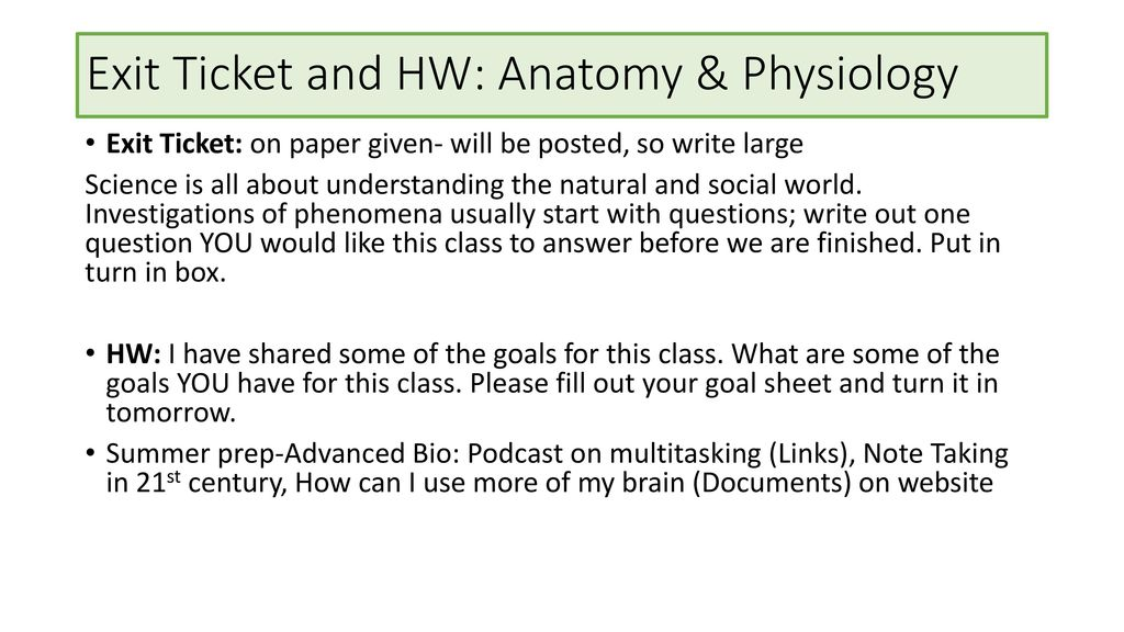 Asombroso What Is An Anatomy And Physiology Class Like Imágenes ...