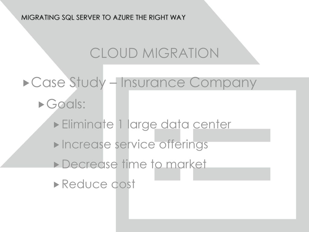 Migrating SQL Server to Azure the Right Way - ppt download