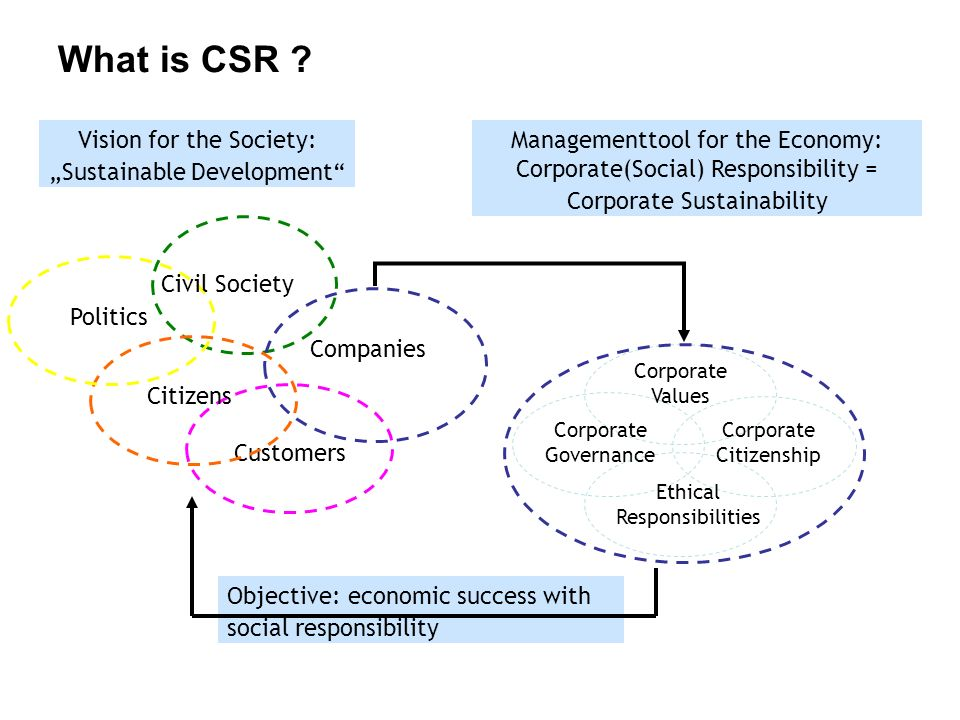 """a discussion on sustainable development and social responsibility in business Discussion attempted to reconcile perceived conflicts between the environment,   a new approach, referred to as: """"sustainable development  business to  sustainability principles, particularly, advantages to the company's."""