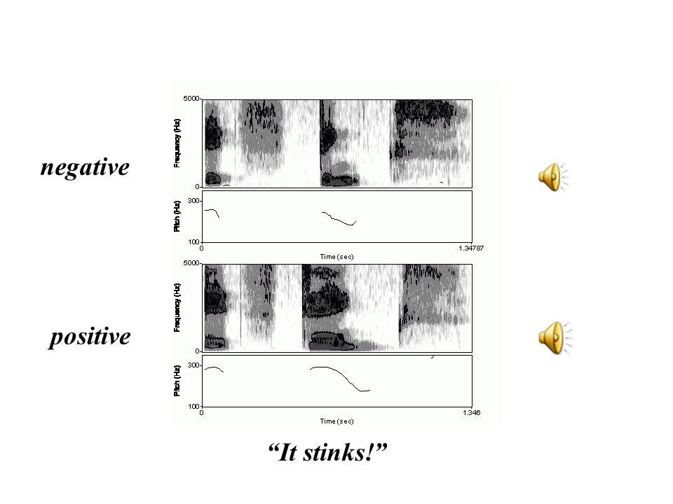 negative positive It stinks!