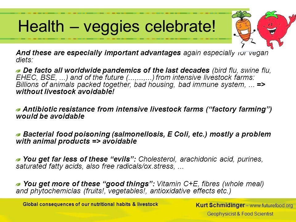 Health – veggies celebrate!