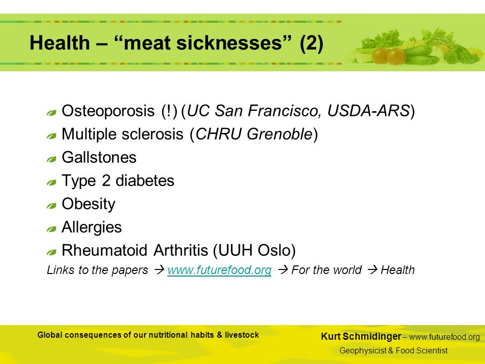 Health – meat sicknesses (2)