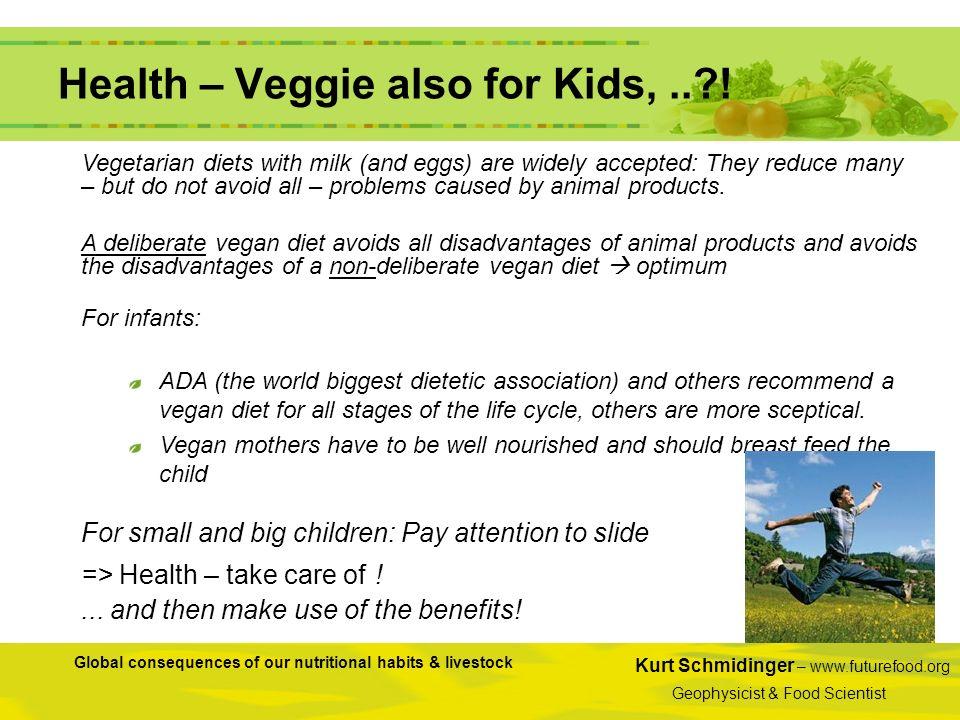 Health – Veggie also for Kids, .. !