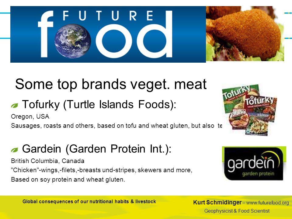 Some top brands veget. meat