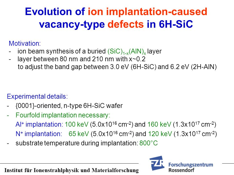 Evolution of ion implantation-caused vacancy-type defects in 6H-SiC