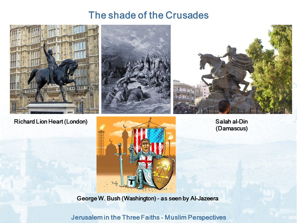 The shade of the Crusades