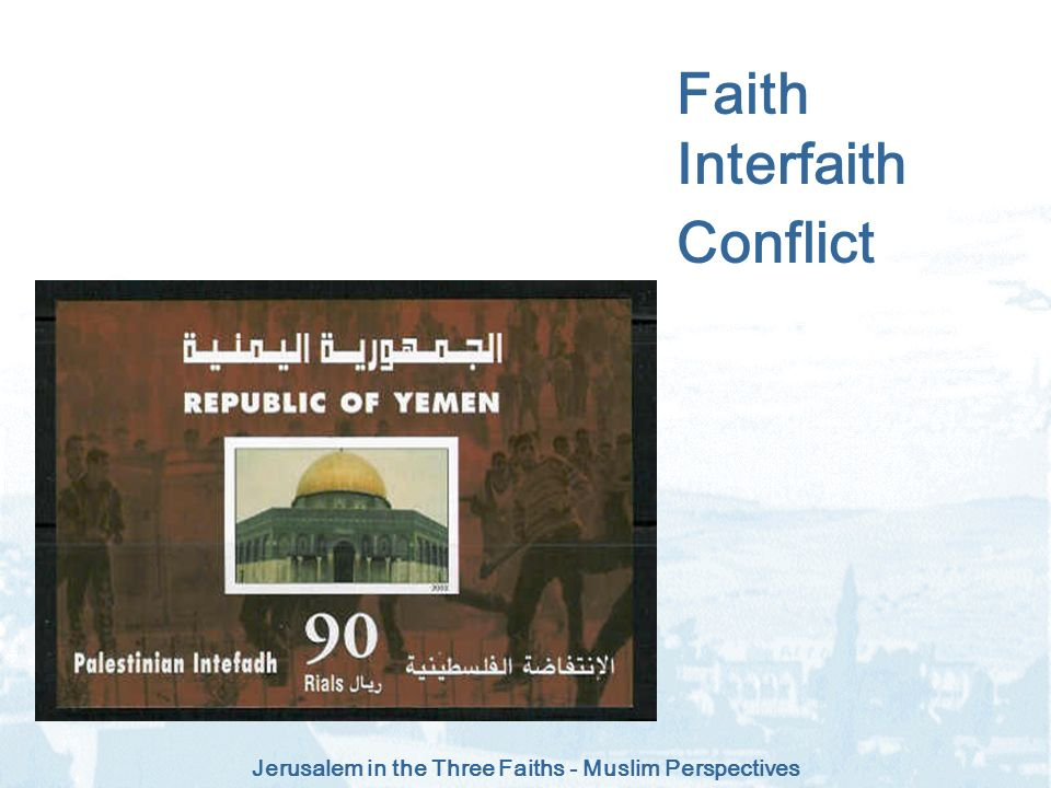 Faith Interfaith Conflict