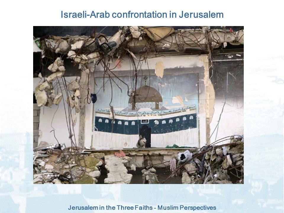 Israeli-Arab confrontation in Jerusalem
