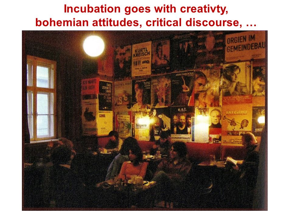 Incubation goes with creativty,