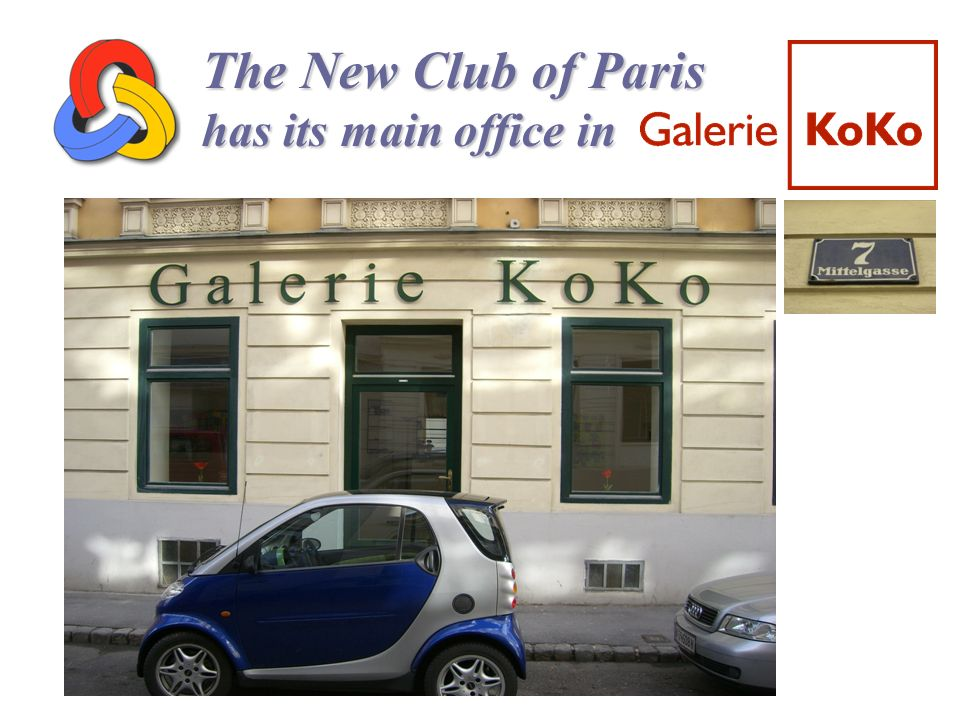 The New Club of Paris has its main office in 31