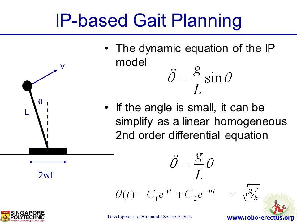 IP-based Gait Planning