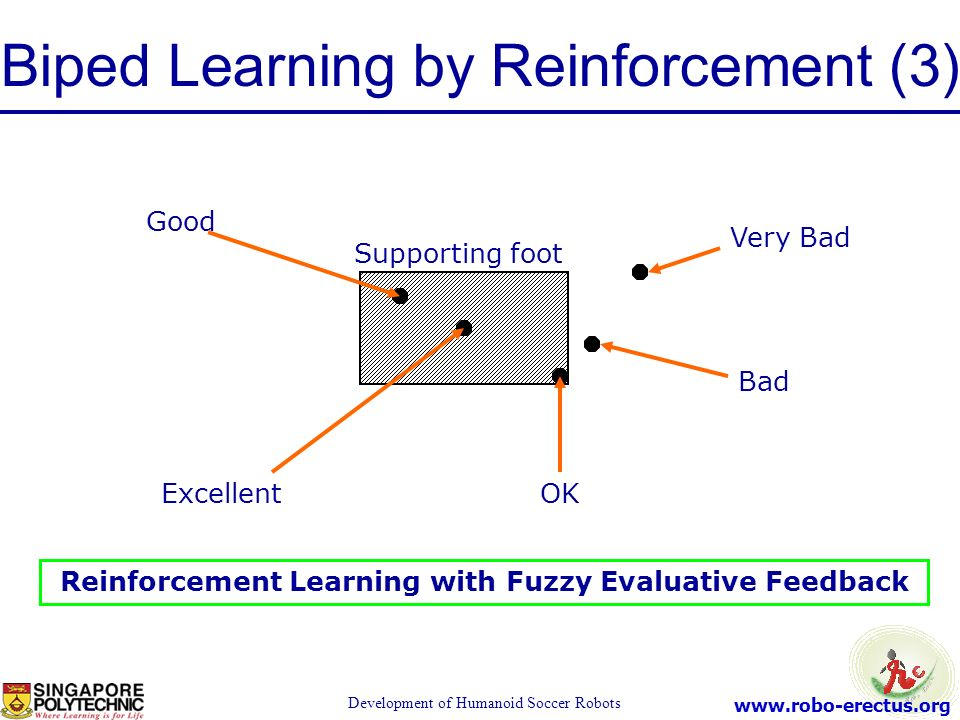 Biped Learning by Reinforcement (3)